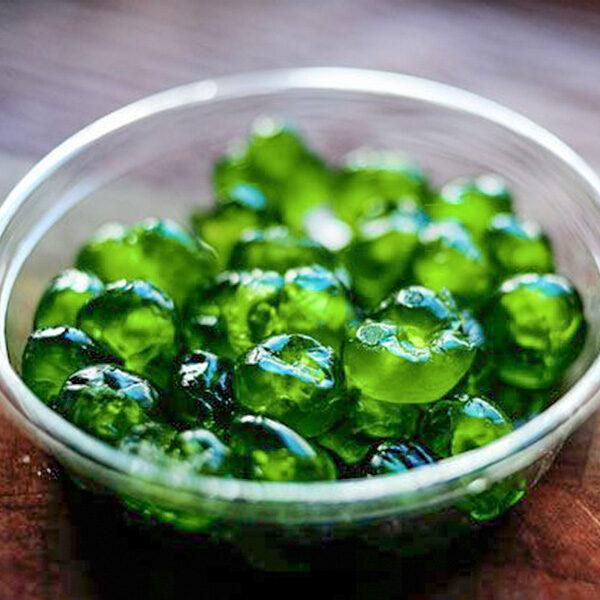Green Glazed Cherries