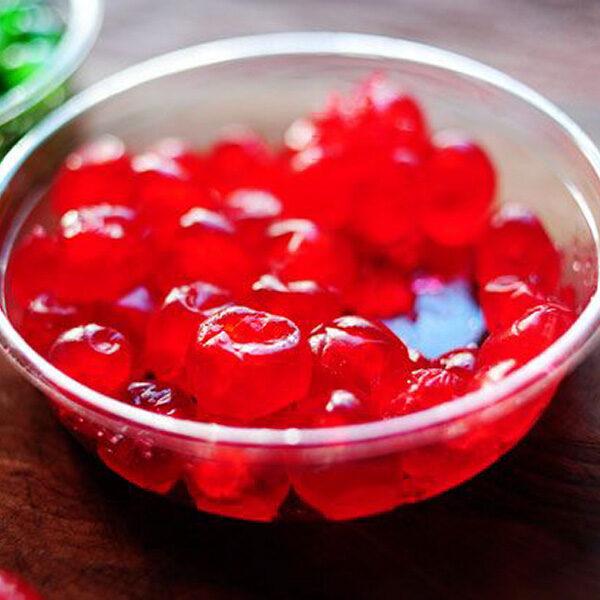 Red Glazed Cherries