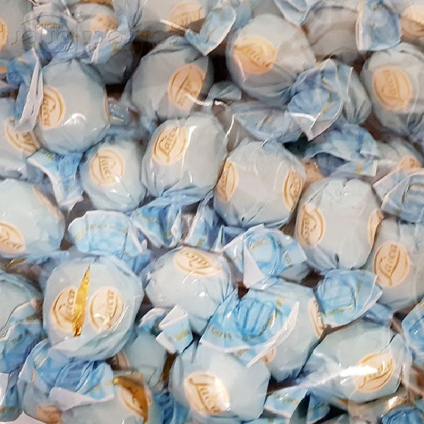 Blue wrapped Milk Chocolate Pralines