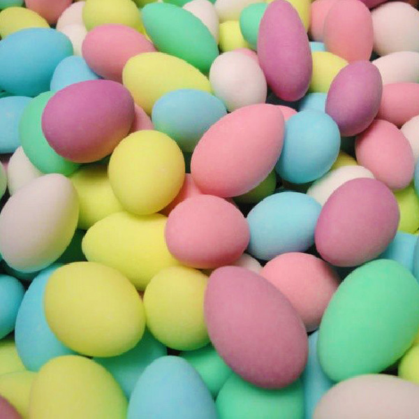 Mixed Sugar Coated Almonds – Confetti