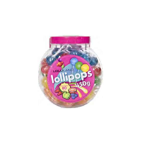 Round Lolly Pops Assorted