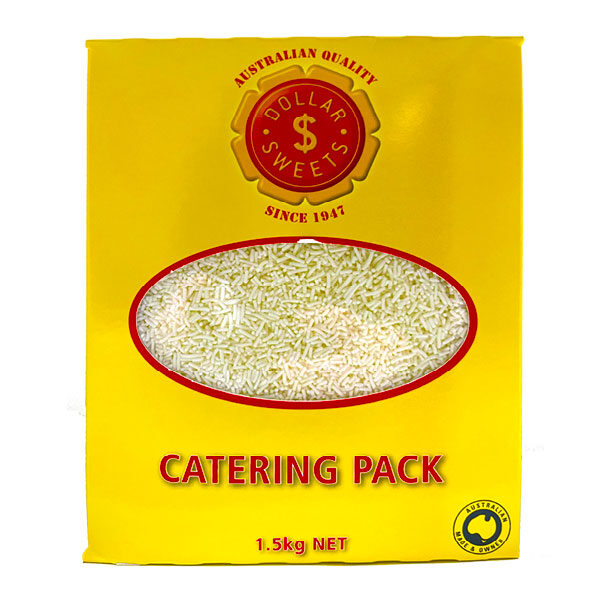 Dollar Sweets Catering Pack Sprinkles White