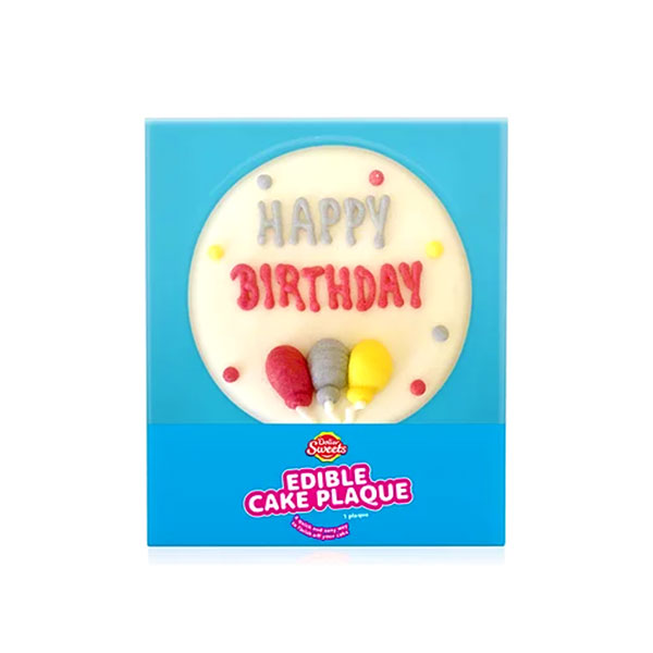 Dollar Sweets – Edible Cake Plaque