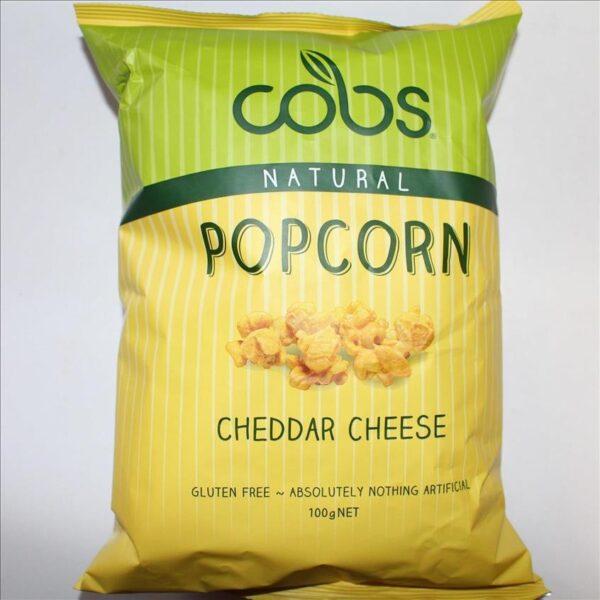 Cobs Popcorn Cheddar Cheese 100g