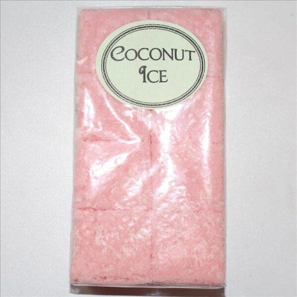 Coconut Ice Fudge