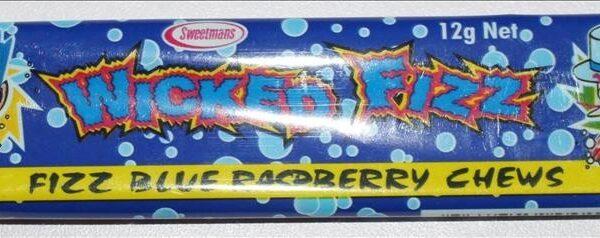 Wicked Fizz Blue Raspberry Chews