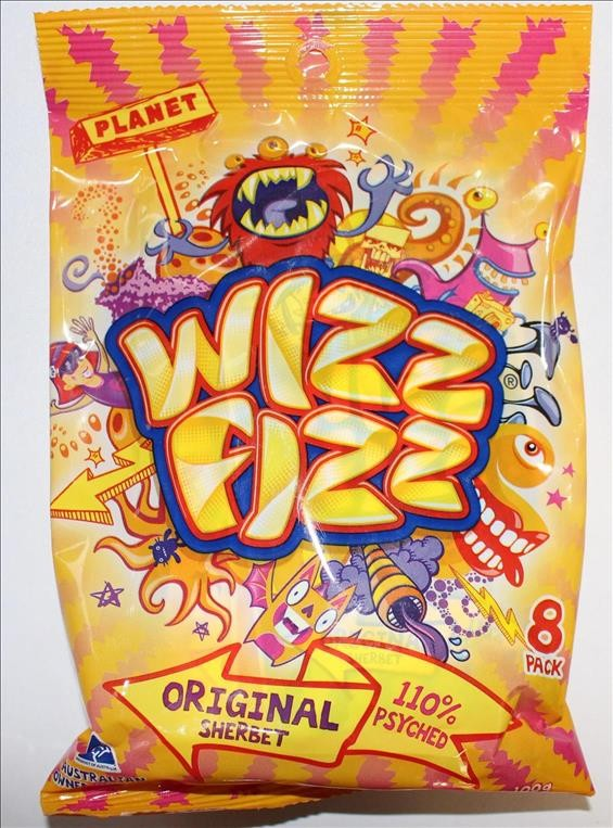 Wizz Fizz Orgininal Sherbet