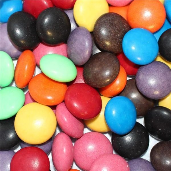 Large Gems Coloured Choc