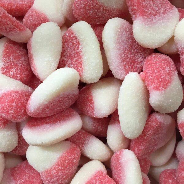 Sour Raspberry Hearts