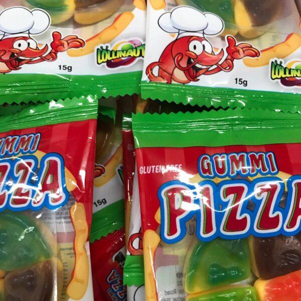 Wrapped Gummy Pizzas