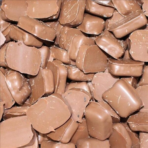 Milk Chocolate Coated  Turkish Delight